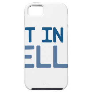 Get in My Belly iPhone 5 Cover