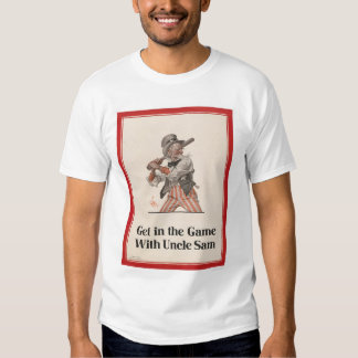 Get in the Game with Uncle Sam T Shirt