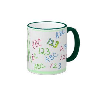 Get in the swim of school coffee mugs