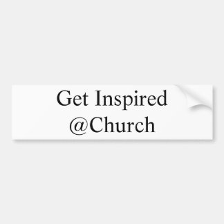 Get Inspired @Church sticker