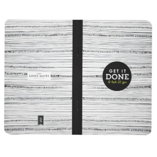 Get it Done and Let it Go Notebook To Do List Journals