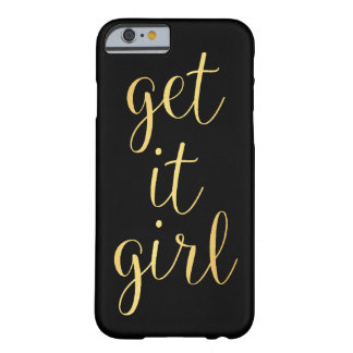 Get it Girl iPhone Cover