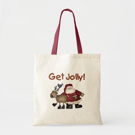 Get Jolly Tote Bag