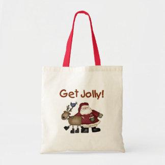 Get Jolly Budget Tote Bag