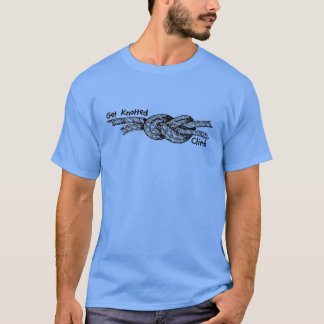 Get Knotted Rock Climbing Tee