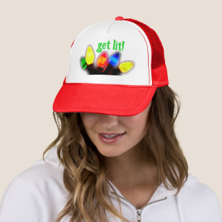 Get Lit Holiday Hat