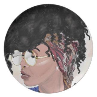 get loose black girl magic natural hair plate