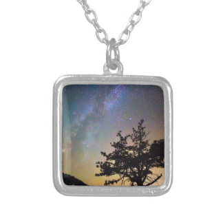 Get Lost In Space Silver Plated Necklace
