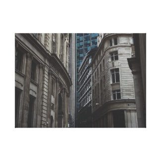 Get Lost In The City Canvas Print