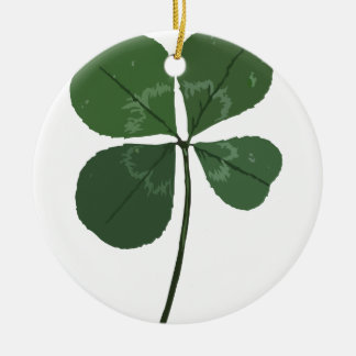 Get Lucky Round Ceramic Decoration