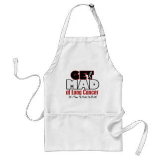 Get Mad At Lung Cancer Aprons