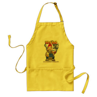 Get Mellow in Yellow with BBQ Bob Standard Apron