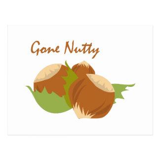 Get Nutty Postcard