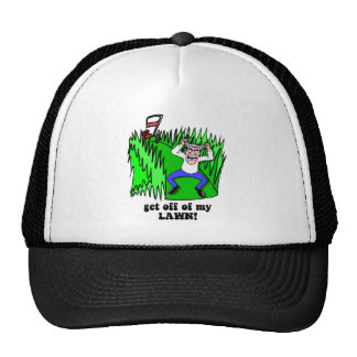 get off of my lawn cap