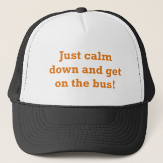 Get on the Bus Cap