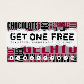get one free GELATO Business Card