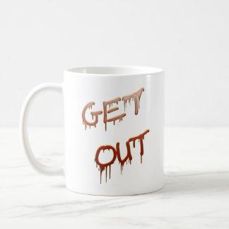 Get Out Basic White Mug