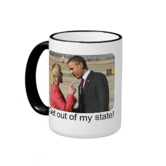 Get out of my state! mug