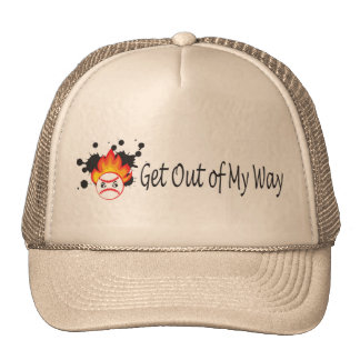 Get out of my way baseball cap