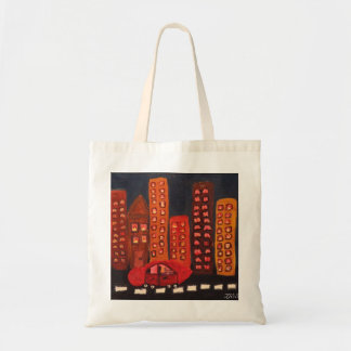 """""""Get out of Town"""" small tote"""