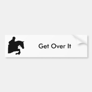 Get Over It, Bumper Bumper Sticker