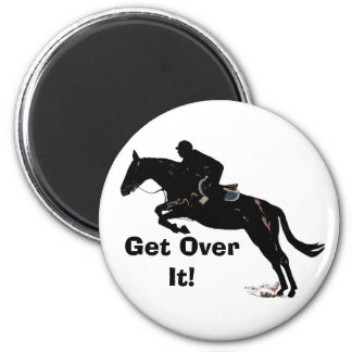 Get Over It! Horse Jumper Magnet