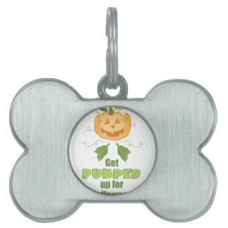 Get Pumped Pet Tag