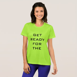 GET READY FOR THE DROP - cool squash t-shirt