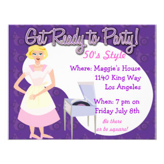 Get Ready to Party Personalized Invites