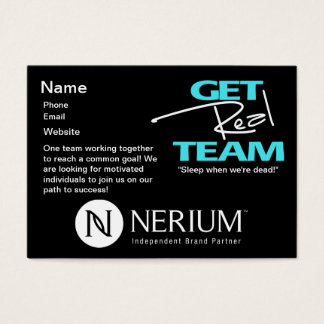 Get Real Team Chubby Cards