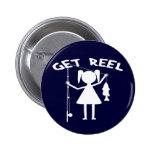 Get Reel - Little Girls Fishing Pins