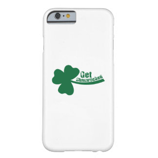 Get Shamrocked St. Patrick's Day Funny Barely There iPhone 6 Case