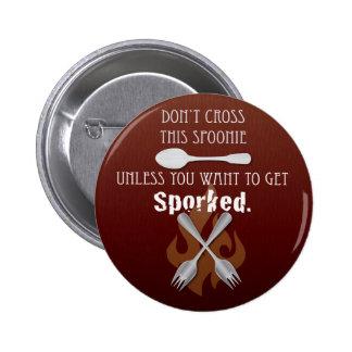 Get Sporked! Pinback Button