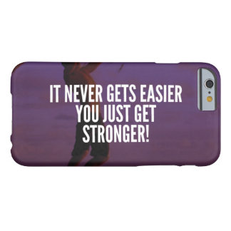Get Stronger - Workout Motivational Barely There iPhone 6 Case