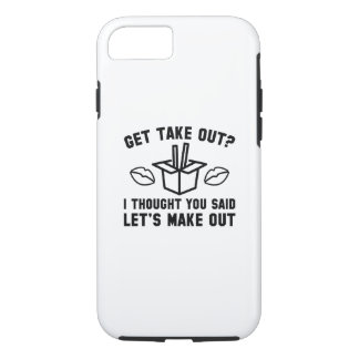 Get Take Out iPhone 7 Case