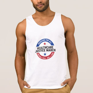 """Get """"tanked"""" for the Healthcare Justice March! Singlet"""
