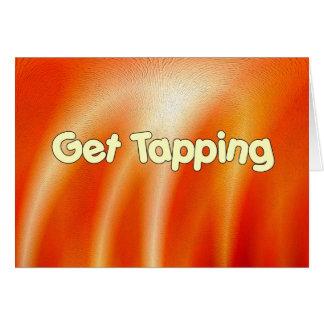 Get Tapping - Tap Dancing Greeting Card