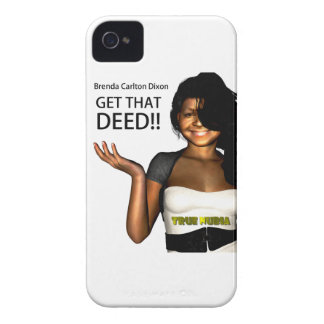 GET THAT DEED iPhone 4 Case-Mate CASES
