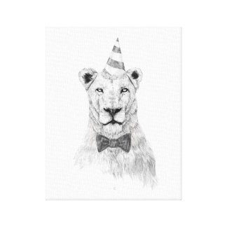 Get the party started canvas print