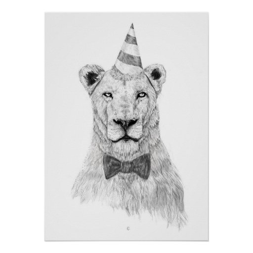 Get the party started print