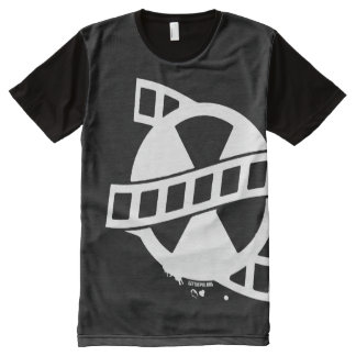 Get The Pix Production All Over Logo All-Over Print T-Shirt