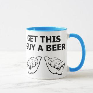 Get This Guy A Beer Mug