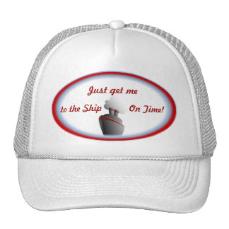 Get to the Ship 2 Cruise Hat