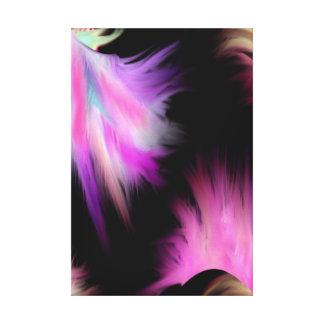 Get up and reach Abstact Modern Art Canvas Print