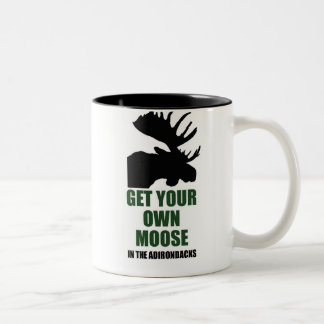 Get ur own moose Two-Tone coffee mug