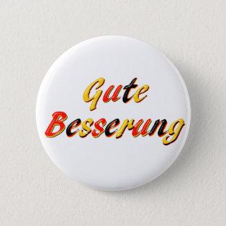 Get Well 6 Cm Round Badge