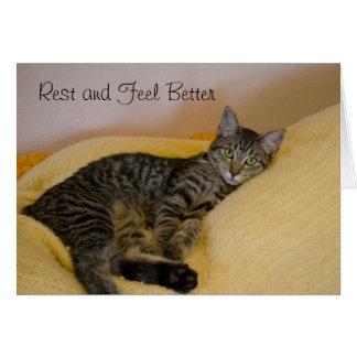 Get Well Cat Card 2