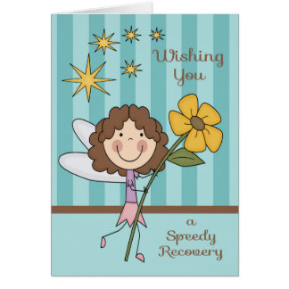 Get Well From Hospital Fairy Greeting Card