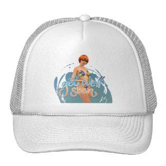 Get Well Soon Aiko Hats