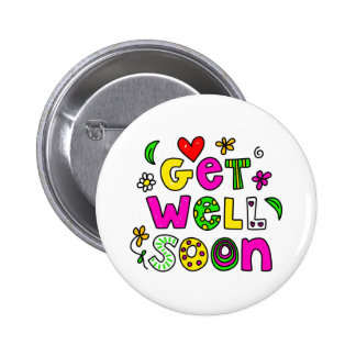 Get Well Soon Button
